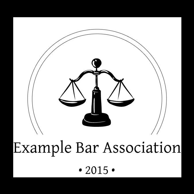 Example Bar Association Logo