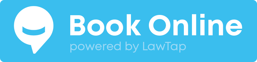 LawTap Screenshot - Lawyer Website Booking Button Example