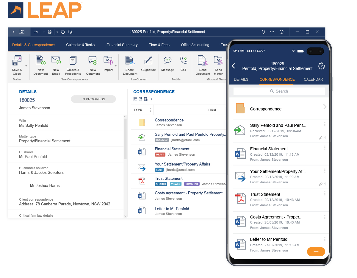 LEAP Practice Management Software
