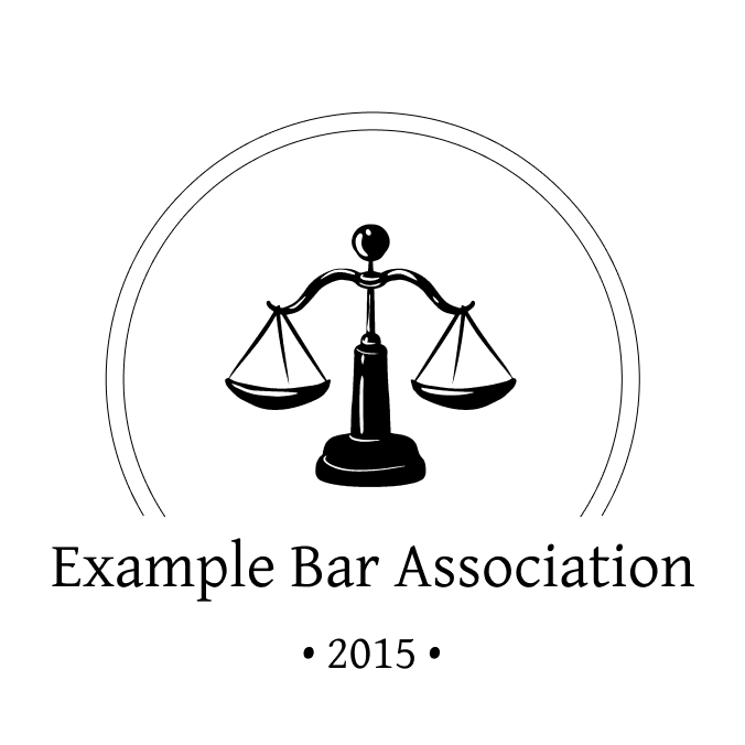 Example Bar Association Logo