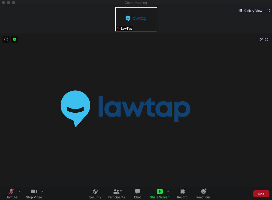 LawTap for Zoom